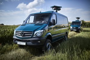 This MERCEDES-BENZ surveillance & monitoring vehicle will be displayed at NATO Days 2018