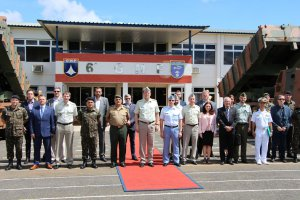 Czech delegation in Brazil with EVPÚ Defence participation
