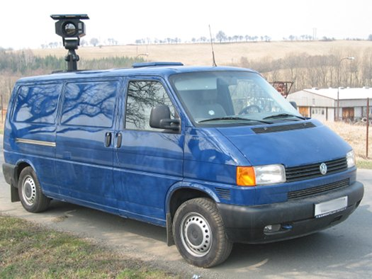 Surveillance & monitoring vehicle