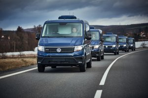 Watch on TV - New Surveillance and Monitoring Vehicle VW Crafter in Reportage of TV NOVA and iDnes.cz news