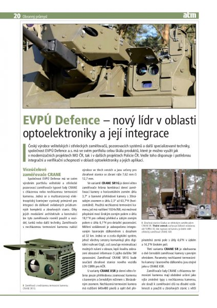 EVPU Defence - a new leader in optoelectronics and its integration