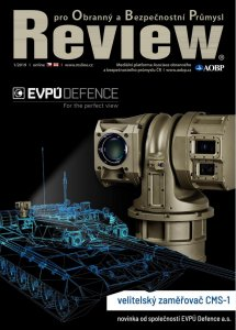 Read about us: REVIEW - EVPÚ Defence is Czech Brand for National Security