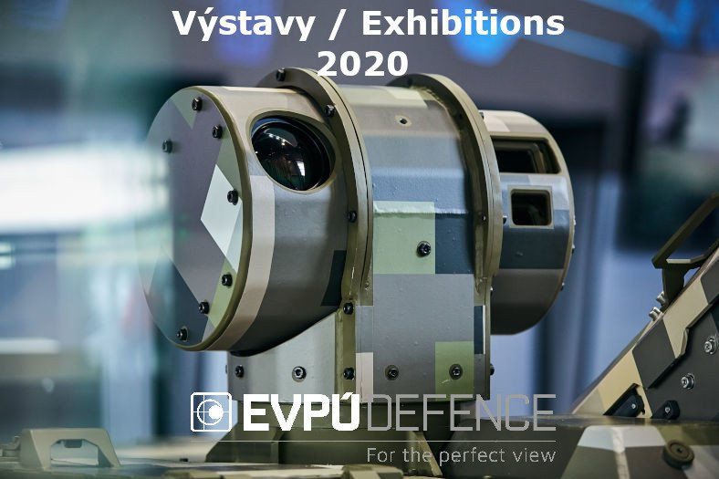 EVPÚ Defence exhibitions 2020