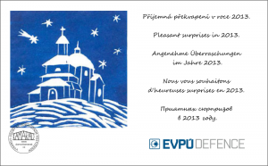 The collective at EVPU Defence wishes a peaceful Christmas and successful New Year!