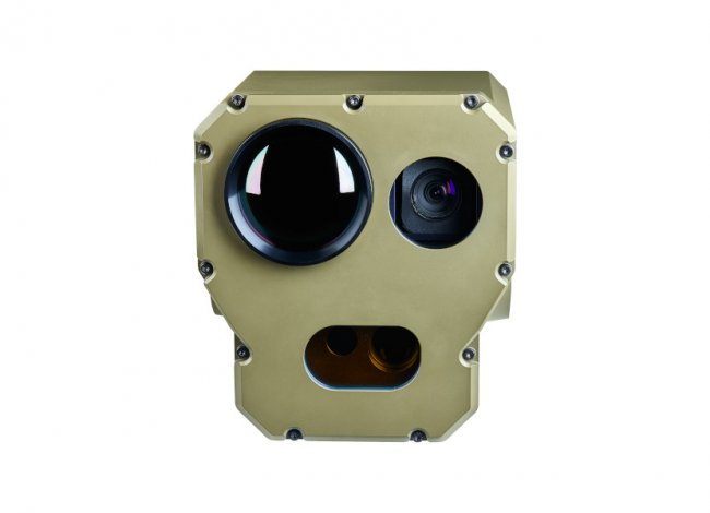 CRANE Gunner Weapon Station Sight with Cooled Thermal Camera