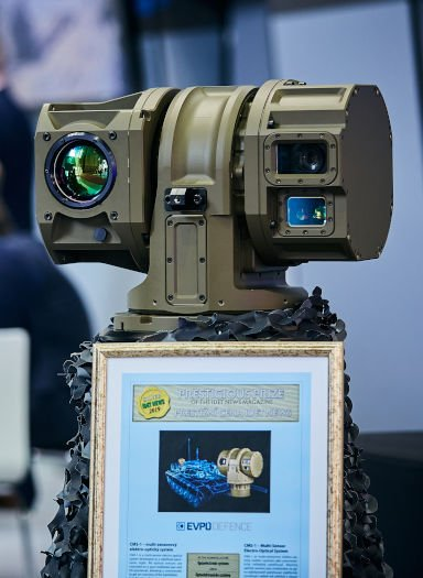 CMS-1 commander weapon station sight awarded by IDET NEWS prize - IDET 2019 exhibition