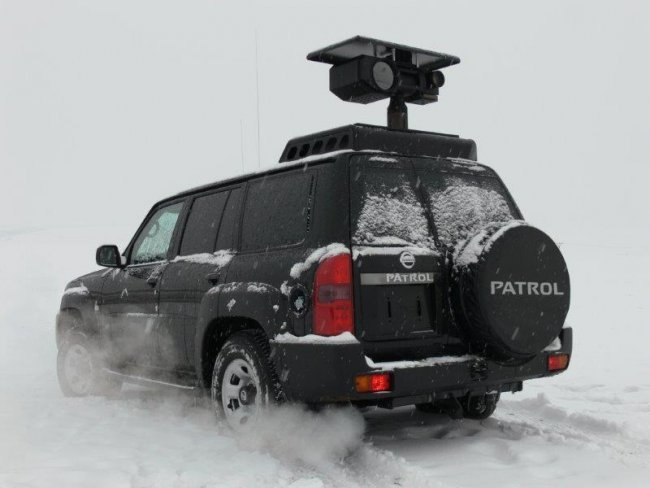 Surveillance & Monitoring Vehicle Nissan Patrol