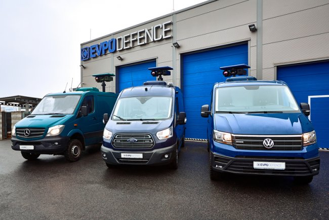 Surveillance & Monitoring Vehicle Mercedes-Benz Sprinter, Ford Transit, VW Crafter