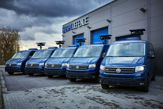 Surveillance & Monitoring Vehicles VW Crafter