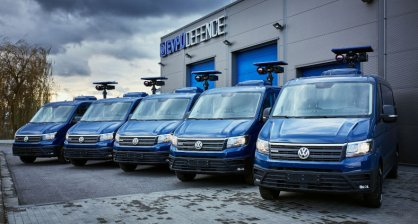 Czech police received brand new surveillance vehicles from us